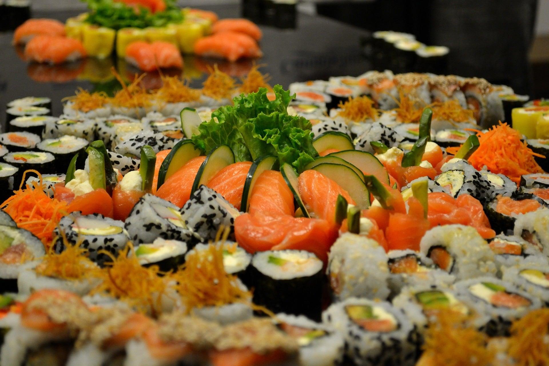 frische sushi platte Saarbrücken